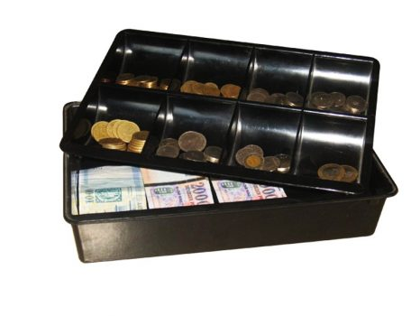 Plastic cash box