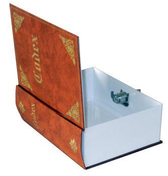 Könyvek közé rejthető pénzkazetta (Codex)