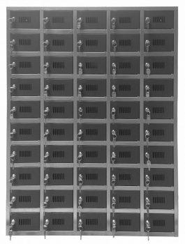 50 rekeszes kulcstároló szekrény