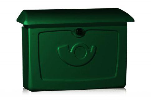 Berlin kültéri postaláda zöld