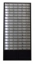 Értéktároló szekrény 100 rekesszel - Strauss Metal
