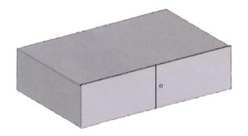 Belső rekesz (180 mm magas) 10-es méretű páncélszekrényekhez