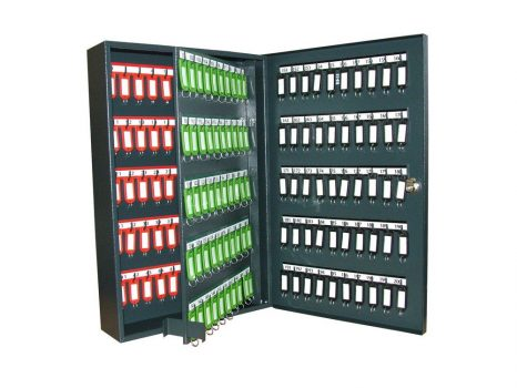 K-200 hajlított kivitelű kulcsszekrény (1 ajtós)