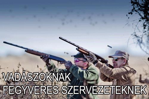 vadászoknak